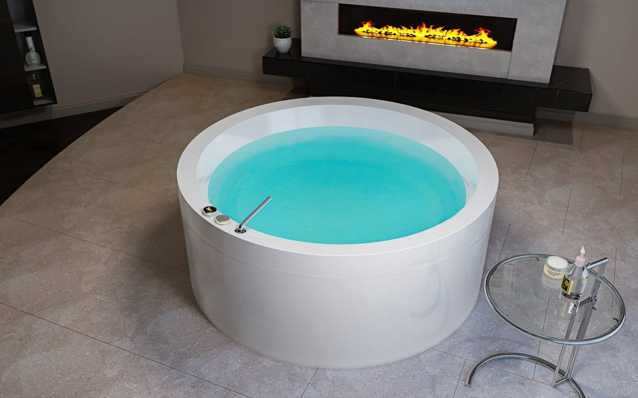 Aquatica Dream Rondo Basic Outdoor Indoor Acrylic Bathtub 2 (web)