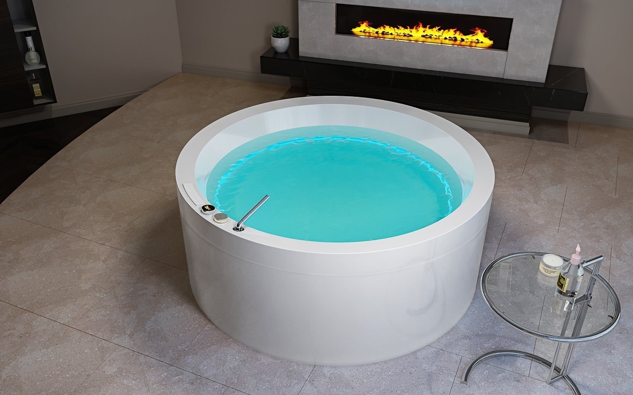 Aquatica Dream Rondo HydroRelax āra/iekštelpu vanna ar sprauslām (ASV versija 240V/50/60Hz) picture № 0