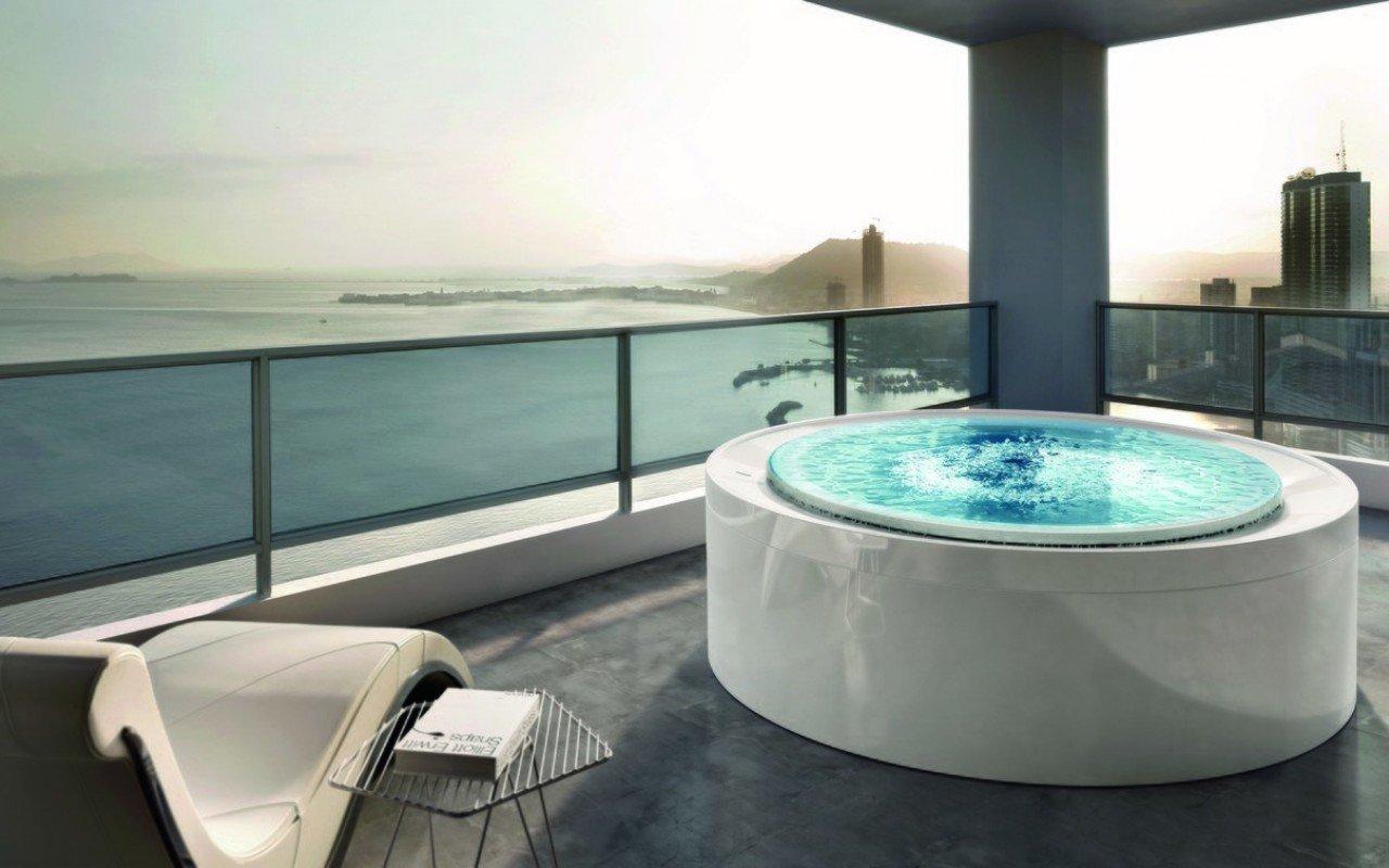 Aquatica Fusion Rondo spa baseins, Marc Sadler dizains (240V/60Hz) picture № 0