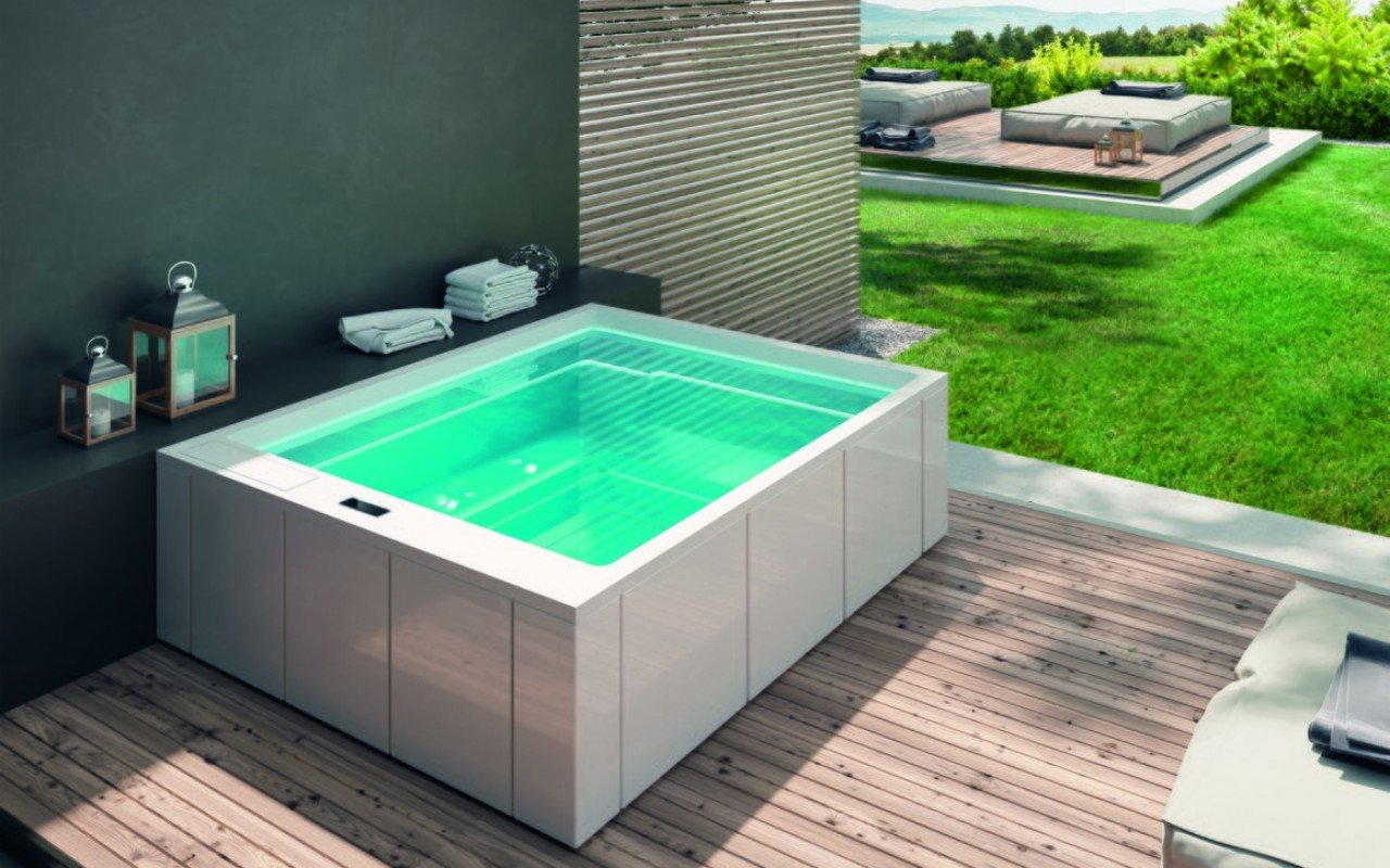 Aquatica Muse Spa Pro vanna, Marc Sadler dizains (240V/60Hz) picture № 0