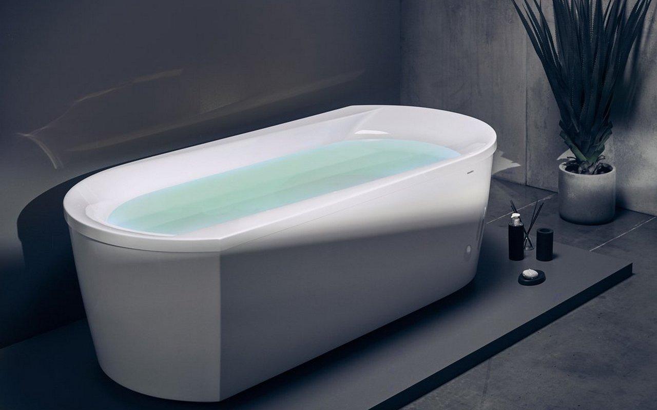 Aquatica Purescape™ 107-Wht brīvstāvoša akrila vanna, balta picture № 0