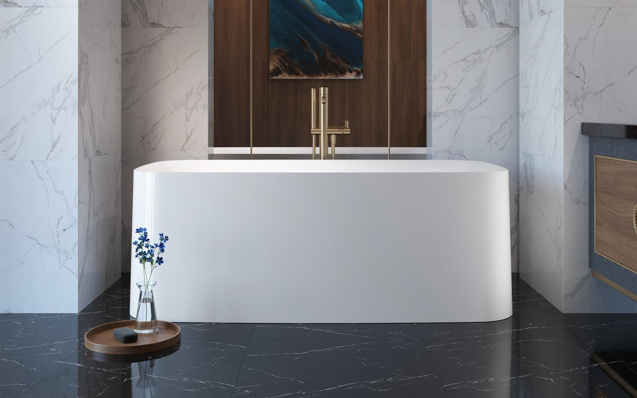 Aquatica Purescape™ 364 brīvstāvoša akrila vanna picture № 0