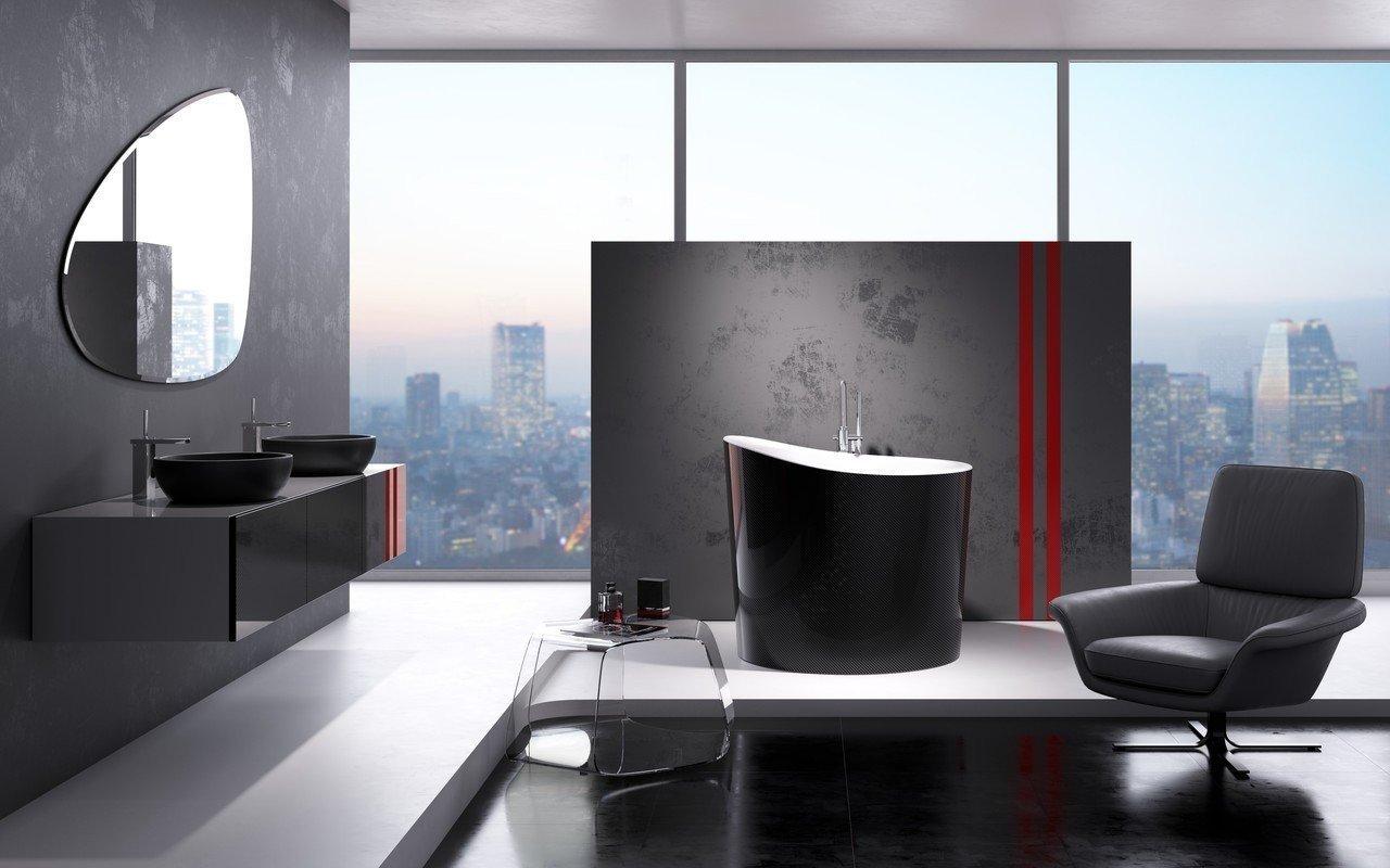 Aquatica True Ofuro Mini Carbon Wht Freestanding Stone Stone Japanese Soaking Bathtub 01 (web)