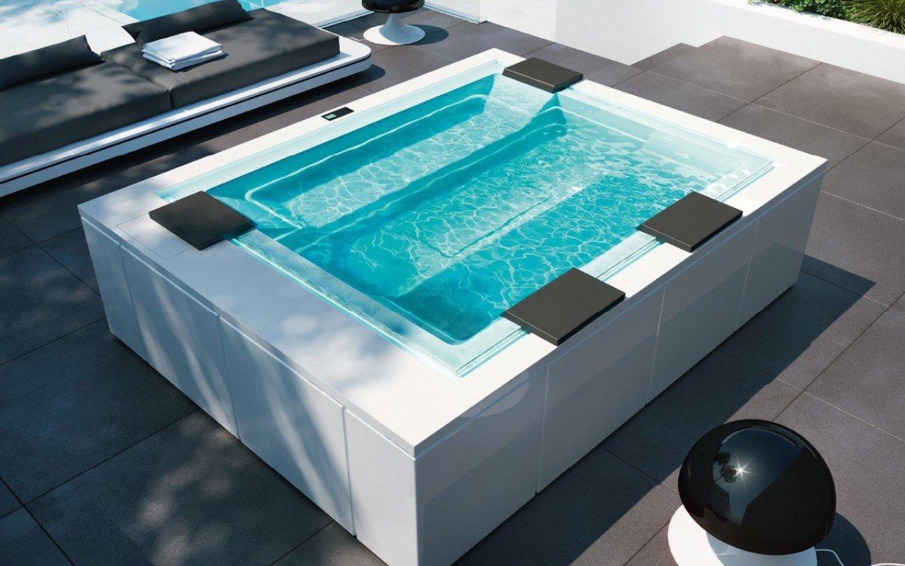 Aquatica Zen Active spa baseins, Marc Sadler dizains (240V/60Hz) picture № 0