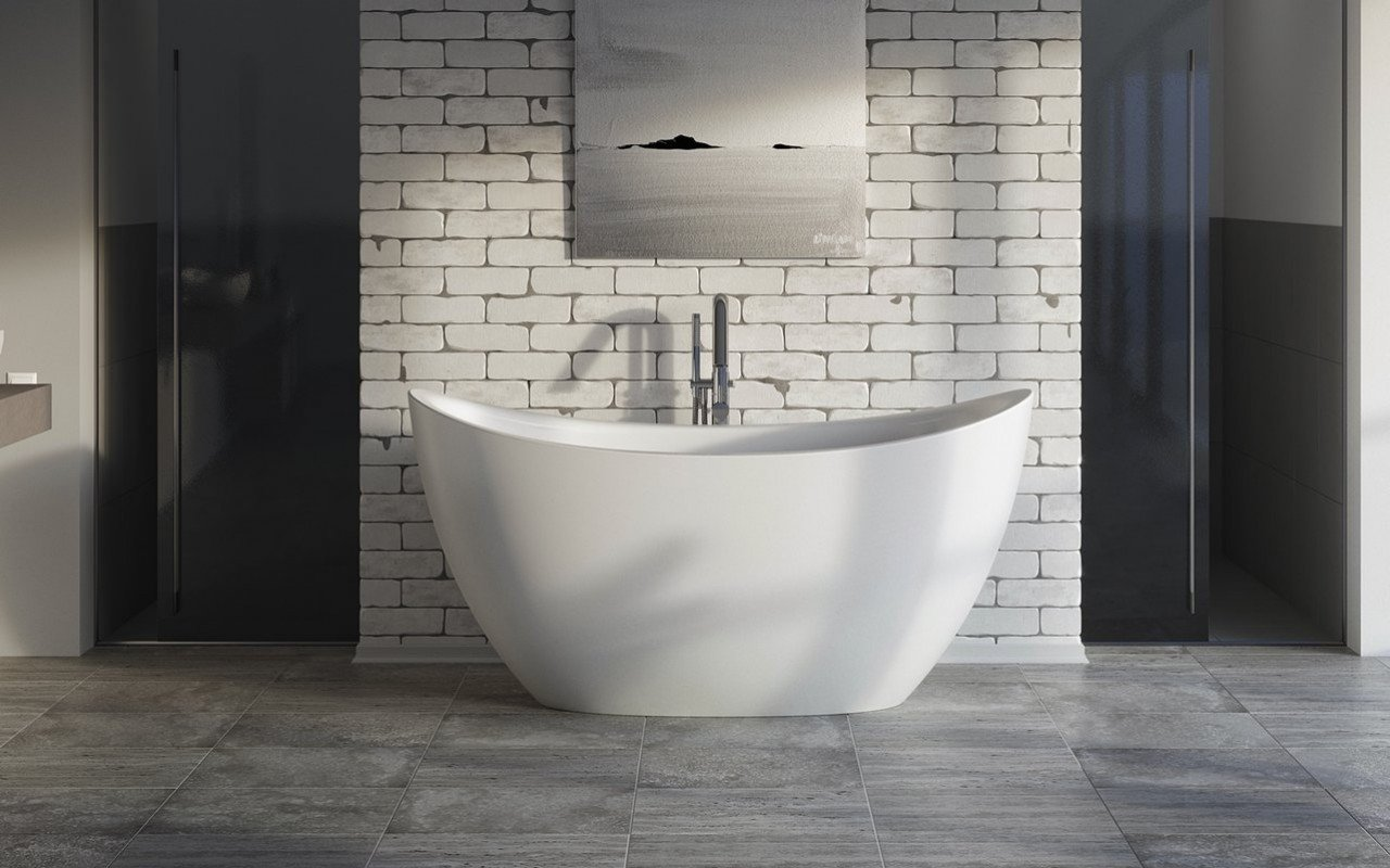 Aquatica Purescape 171 Mini brīvstāvošaDurateX™ vanna– matēta picture № 0