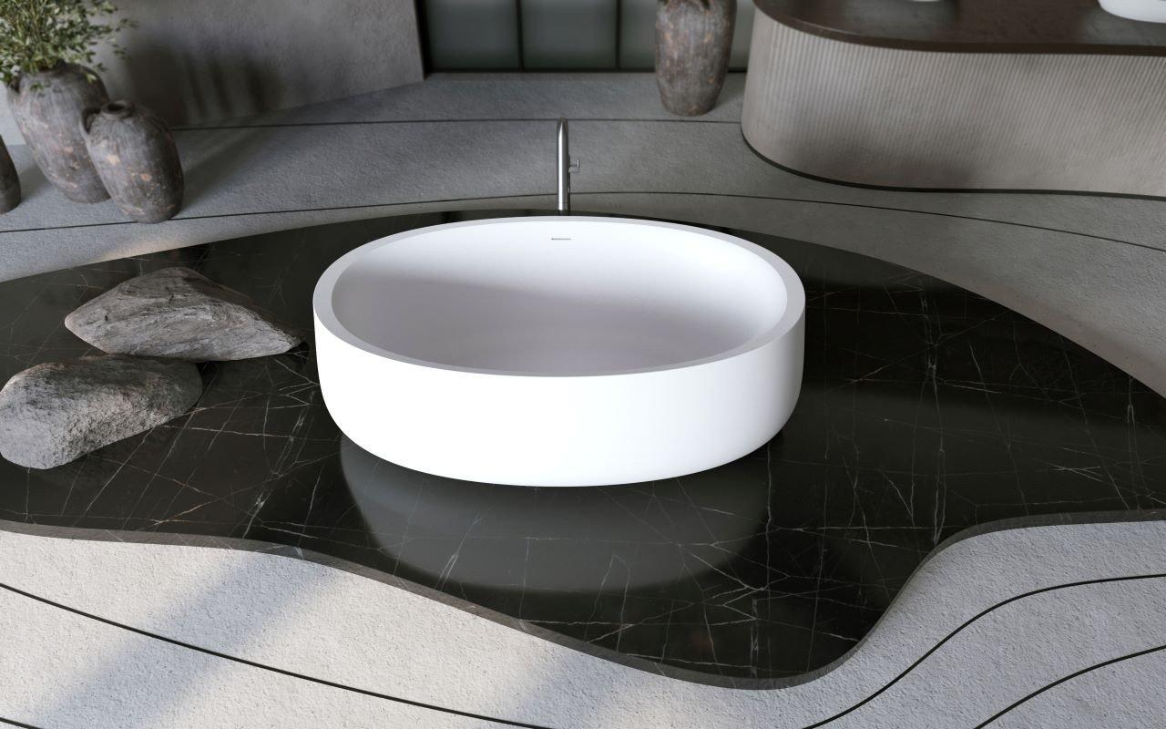 Aquatica Leah Freestanding Solid Surface Bathtub03