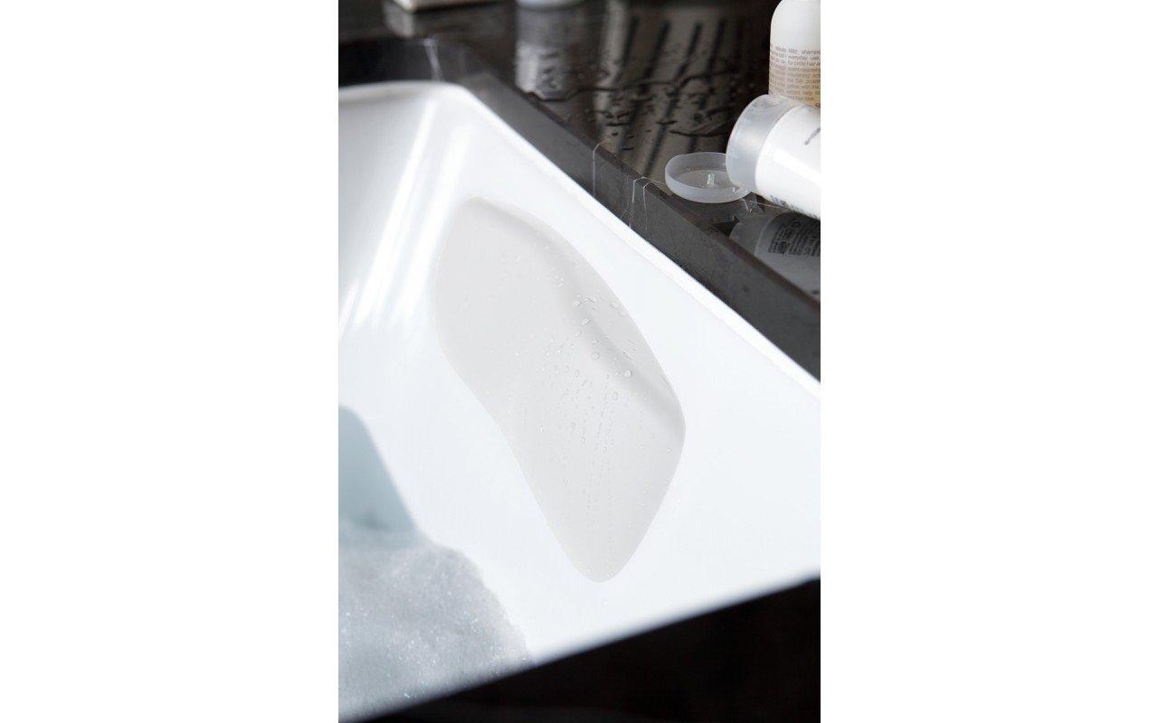 Aquatica Vanilla galvas balsts vannai, balts picture № 0