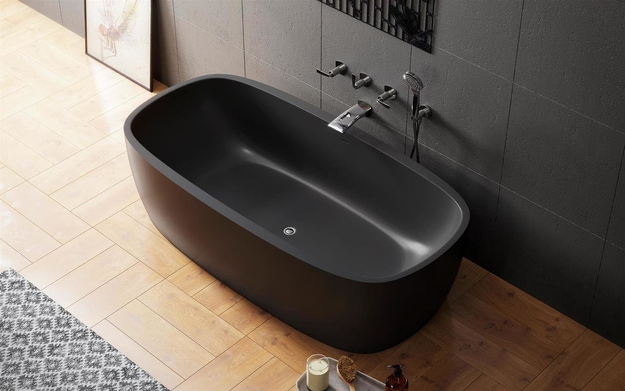 Coletta black freestanding solid surface bathtub 02 (web)