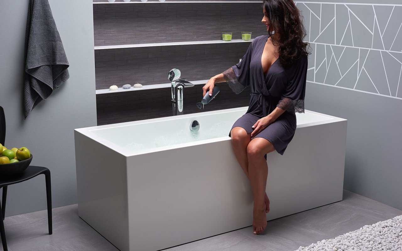 Aquatica Continental-Wht™ (PURESCAPE 714) Freestanding Solid Surface Bathtub picture № 0