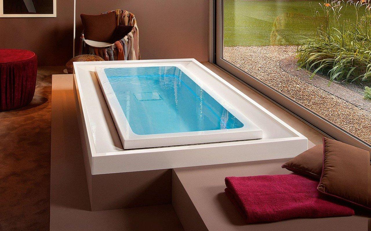 Aquatica Fusion Lineare HydroRelax āra/iekštelpu vanna ar sprauslām (ASV versija 240V/50/60Hz) picture № 0
