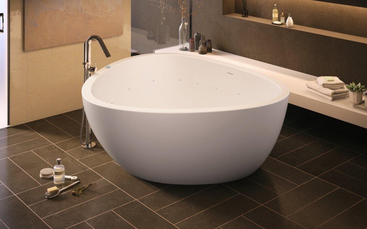 Aquatica Trinity-M-Wht Relax VelveX™ Gaisa masāžas vanna– matēta picture № 0