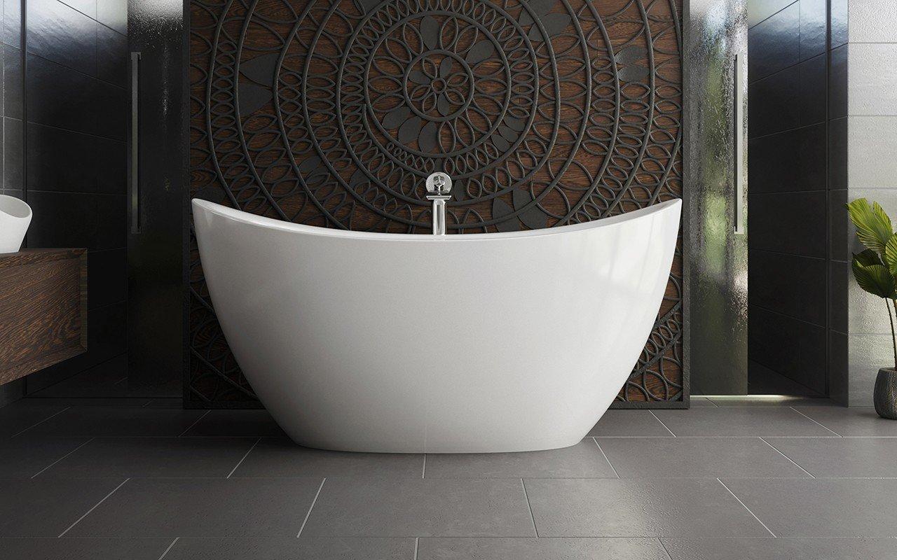 Aquatica Purescape 171 Mini brīvstāvoša DurateX™ vanna– mirdzoši spīdīga picture № 0