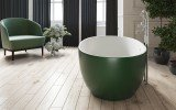 Aquatica Corelia Moss Green Wht Freestanding Solid Surface Bathtub 05 (web)