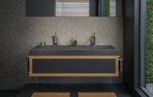 Aquatica Millennium 150 Blck Stone Bathroom Sink 01 (web)