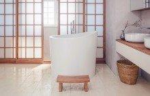 Aquatica True Ofuro Mini Freestanding Stone Japanese Soaking Bathtub web (4)
