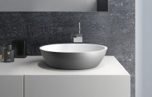 Aquatica sensuality gunmetal wht stone bathroom vessel sink 01 (web)