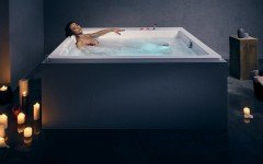 Lacus Wht Spa Drop In Jetted Bathtub 230V 50 60Hz USA International 01 1
