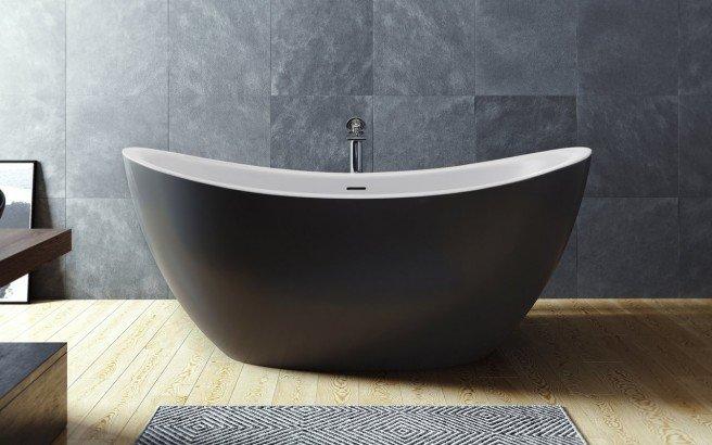 Aquatica Purescape 171M Blck Wht Freestanding Solid Surface Bathtub 01 (web)