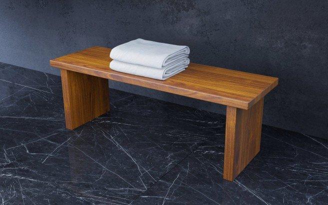 Aquatica Universal 39.25 Waterproof Iroko Wood Bathroom Bench 02 (web)