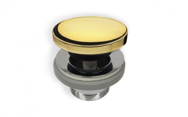Euroclicker Int Gold Bathtub Drain (Gold) 01 (web)