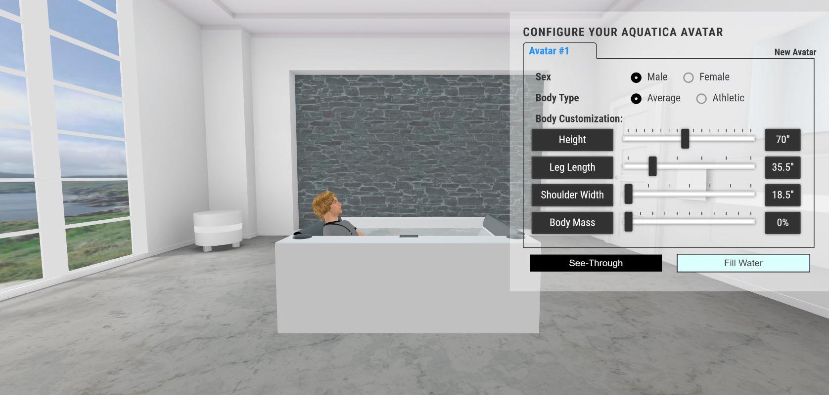 quatica Downtown Spa With Maridur® White Composite Panel 3DBodyPositionweb